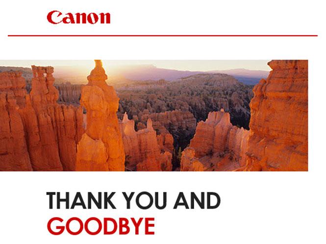 Τίτλοι τέλους σήμερα για το Canon Irista, με δώρο δίμηνη συνδρομή για το Adobe Lightroom! Πρόλαβες να κατεβάσεις τις φωτογραφίες σου;