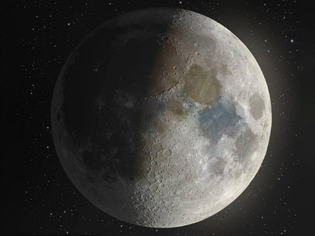 Αυτή η λεπτομερής εικόνα της Σελήνης είναι προϊόν σύνθεσης 100.000 φωτογραφιών!