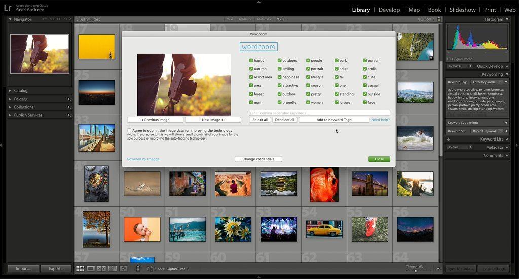 «ΔΩΡΕΑΝ» Plug-in για το Lightroom χρησιμοποιεί τεχνητή νοημοσύνη για να βάλει λέξεις κλειδιά στις φωτογραφίες σας