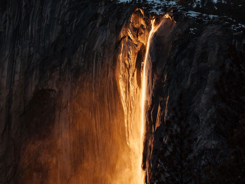 Yosemite: Ο καταρράκτης των φωτογράφων, Horsetail Fall, φέτος δεν έχει νερό!