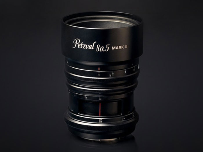 Petzval 80.5 mm f/1.9 MKII SLR Art: Νέος φακός για πορτραίτα από τη Lomography