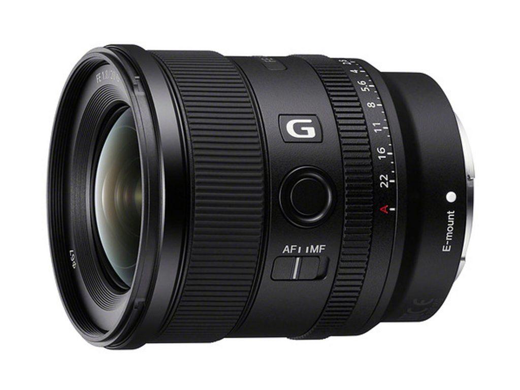 Sony FE 20mm F1.8 G: Νέος ευρυγώνιος prime φακός με τιμή 900 δολάρια