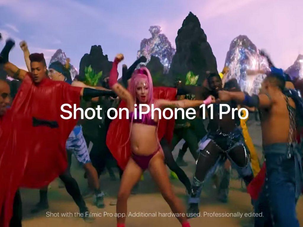 Το νέο μουσικό βίντεο της Lady Gaga γυρίστηκε με το iPhone 11 Pro!