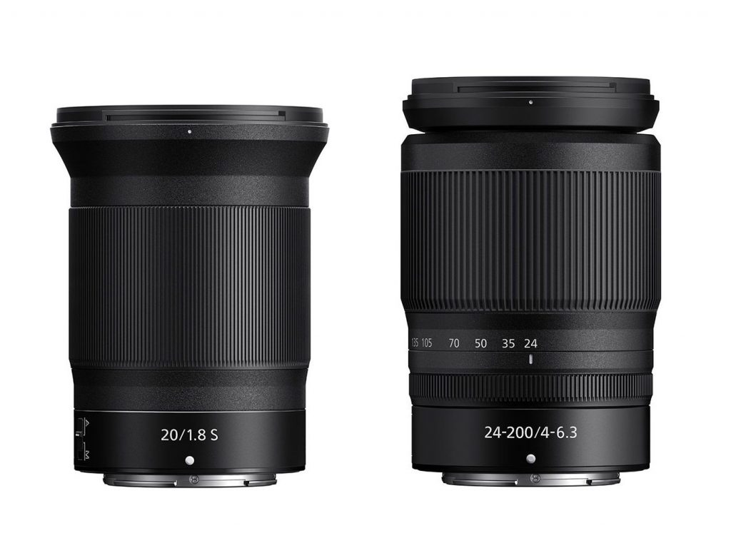 Ανακοινώνονται σε λίγες ώρες δύο φακοί  Nikkor Ζ, ο 20mm f/1.8 και ο 24-200mm f/4-6.3