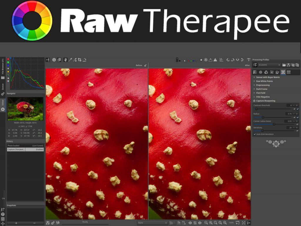 RawTherapee: Διαθέσιμη η έκδοση 5.8 του δωρεάν λογισμικού επεξεργασίας φωτογραφιών