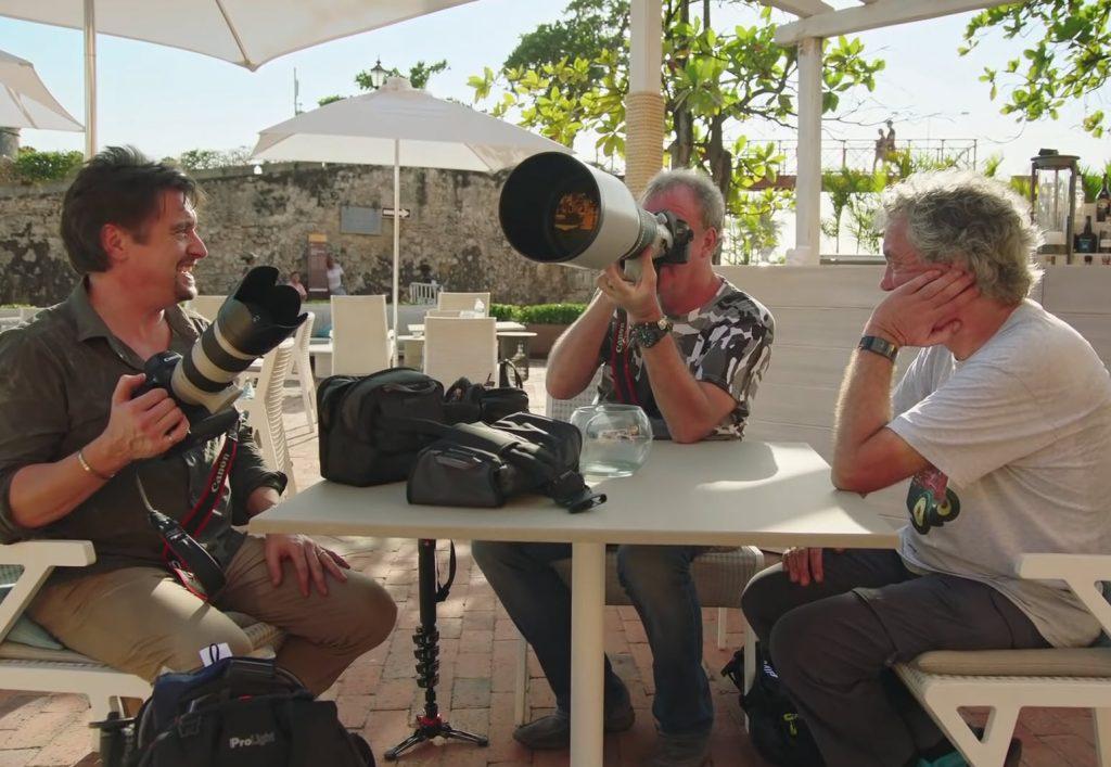 Οι αστέρες του Top Gear κοντράρουν τις φωτογραφικές μηχανές τους!