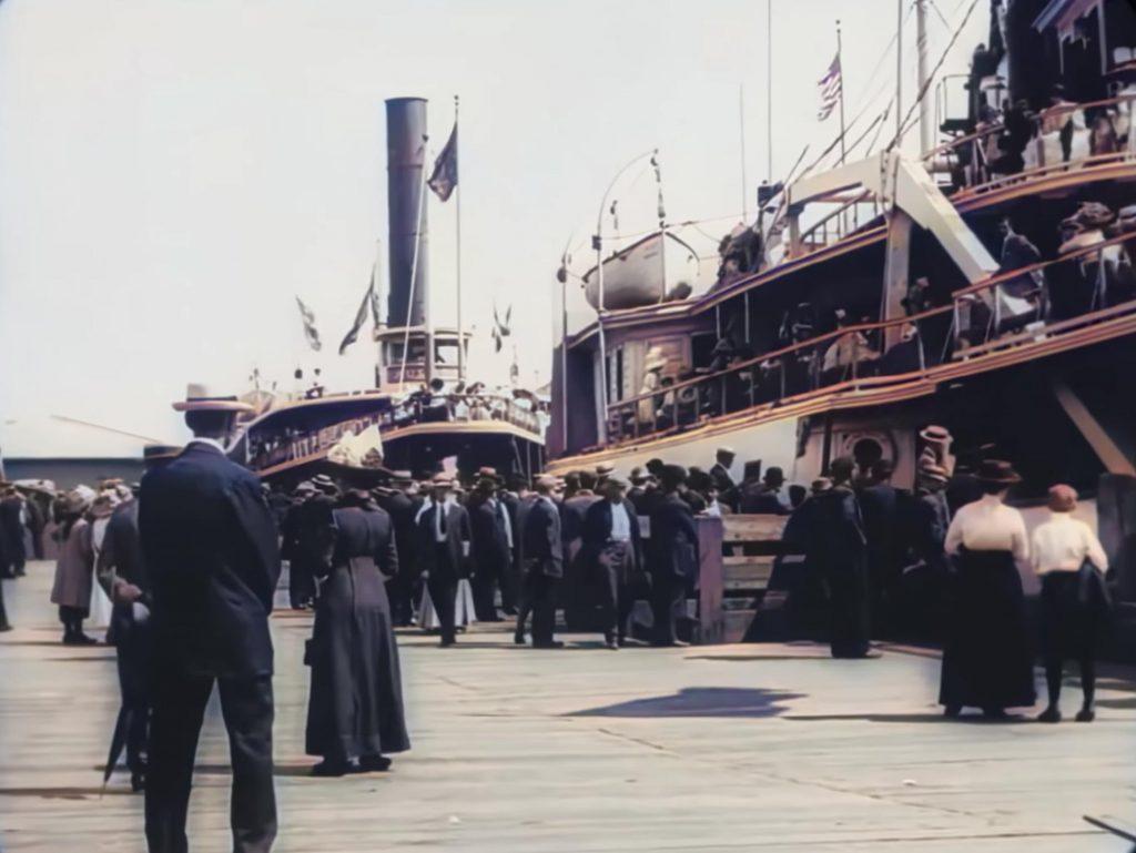 Δείτε βίντεο του 1896 και του 1911 επεξεργασμένα ώστε να έχουν χρώμα και ανάλυση 4Κ 60p!