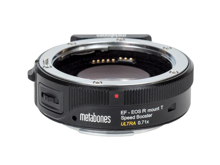 Η Metabones παρουσίασε RF Speed Booster για το σύστημα Canon EOS R για 4Κ βίντεο με μεγαλύτερο μέρος του αισθητήρα