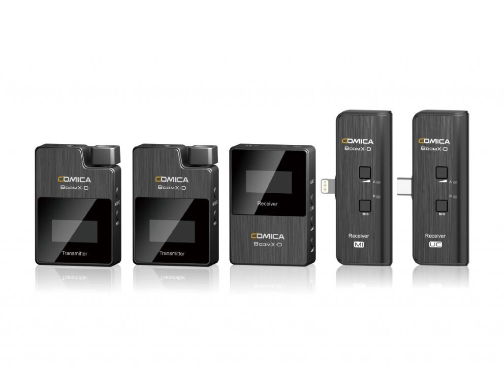 Comica BoomX-D 2.4 GHz: Νέο σύστημα ασύρματων μικροφώνων με δυνατότητα σύνδεσης σε smartphone