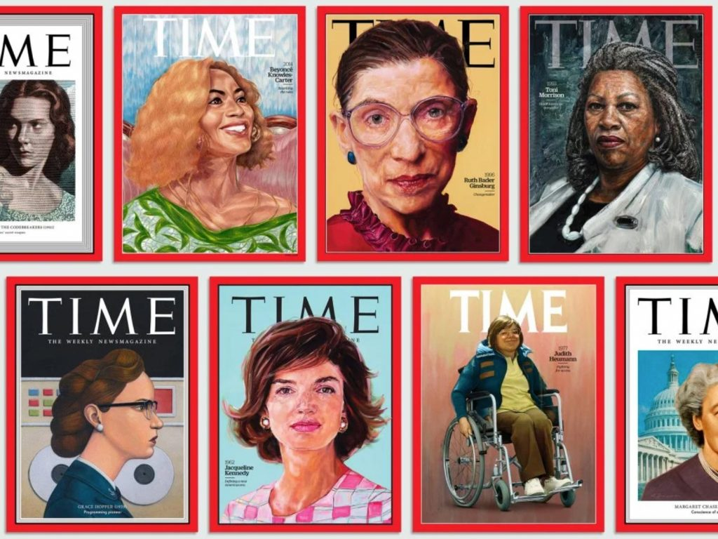 Time 100 WOMEN OF THE YEAR: Τιμά τις γυναίκες φτιάχνοντας 89 νέα εξώφυλλα, ανάμεσα τους η Dorothea Lange!