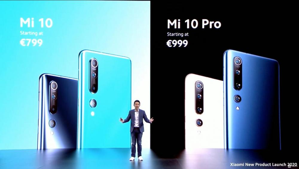 Xiaomi Mi 10: Με τιμή 799 το απλό και 999 ευρώ η έκδοση Pro, έρχονται τον Απρίλιο