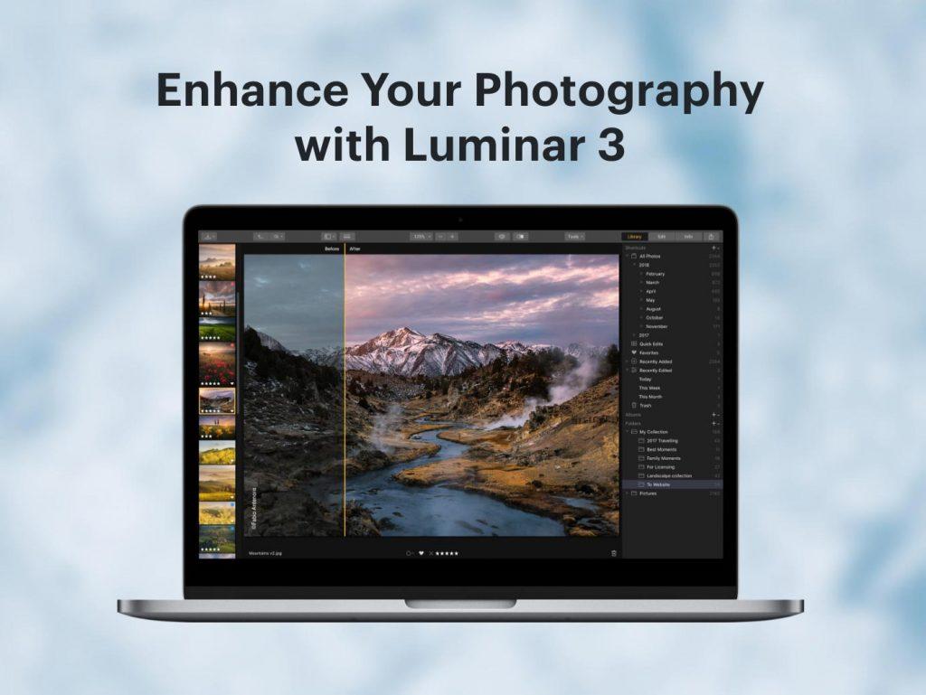 Δωρεάν το Luminar 3 της Skylum! Κατέβασε το!