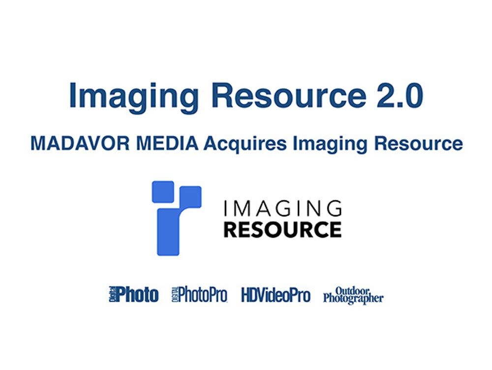 To Imaging Resource εξαγοράστηκε και διασώθηκε από την Madavor Media
