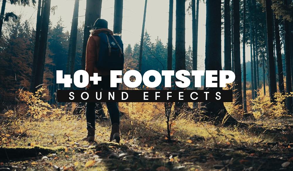42 δωρεάν ήχοι περπατήματος και 15 φυσικοί ήχοι (φωτιά, θάλασσα κ.α.) για τα βίντεο σου!