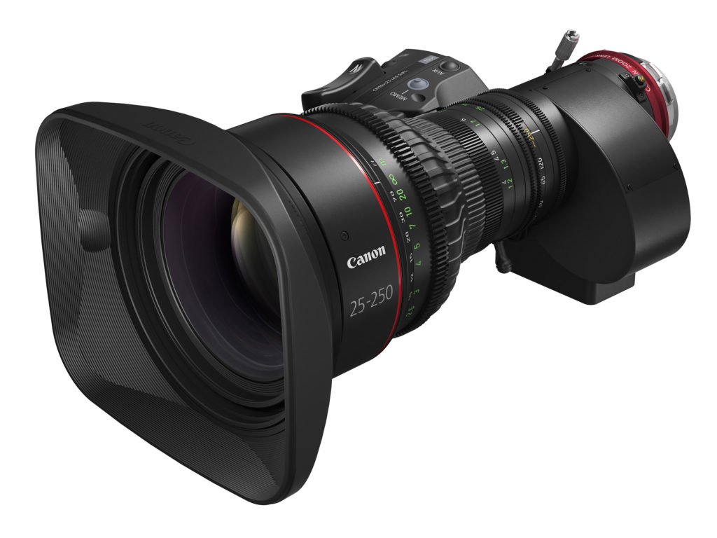 Canon Cine-Servo 25-250mm T2.95-3.95: Νέος κινηματογραφικός ζουμ φακός για 4Κ λήψη με τιμή στα 30.000 δολάρια!