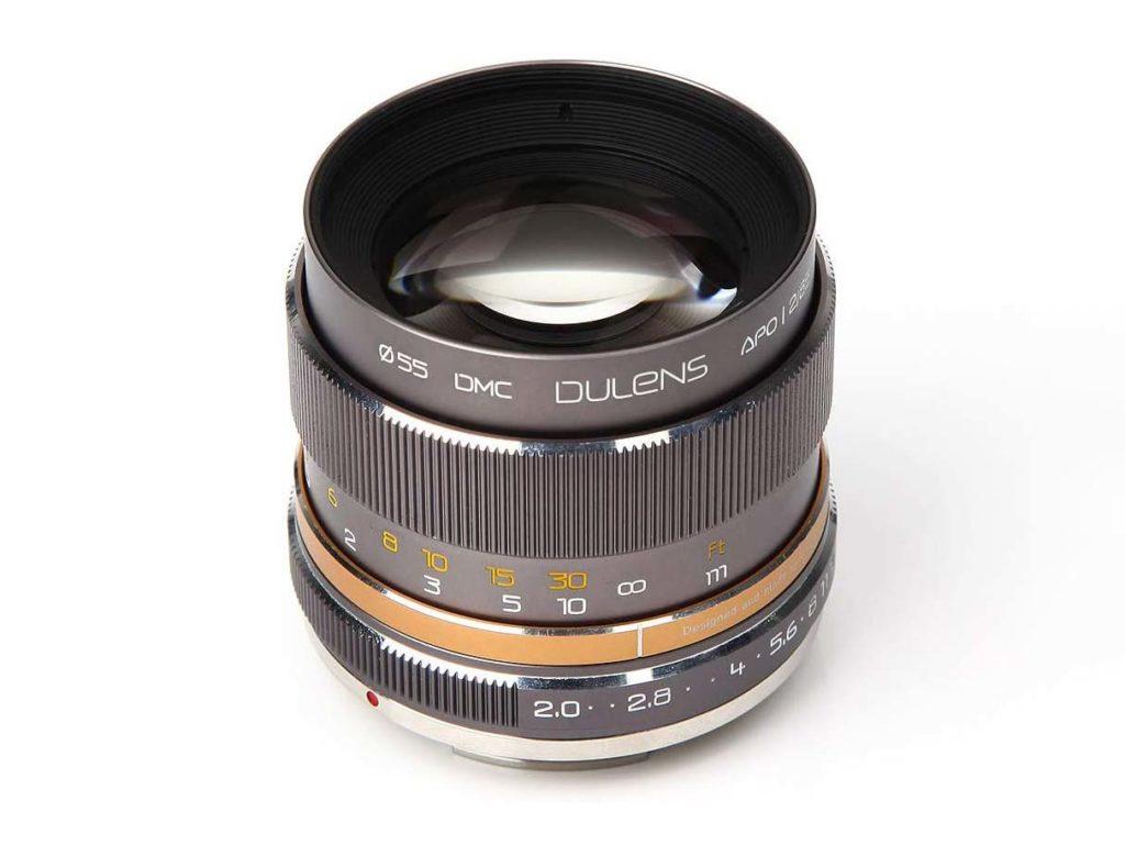 Dulens APO 85mm f/2: Νέος κινέζικος φακός για Canon και Nikon με τιμή 520 λίρες Αγγλίας