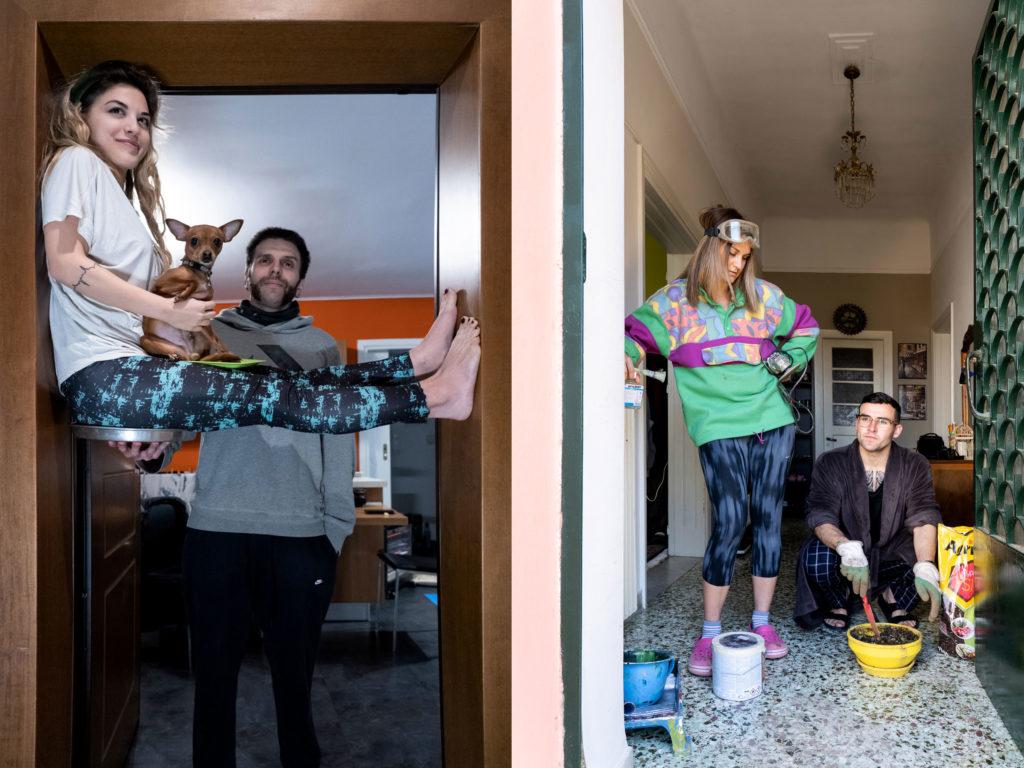 PRECAUTIONARY PROJECT: Φωτογραφίζοντας τους Αθηναίους στα σπίτια τους!