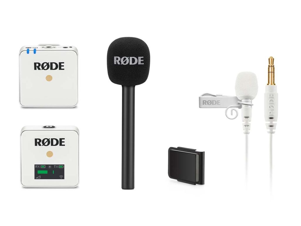 Rode: Παρουσίασε τα Wireless GO και Lavalier GO σε λευκό και τα νέα Interview GO and MagClip GO