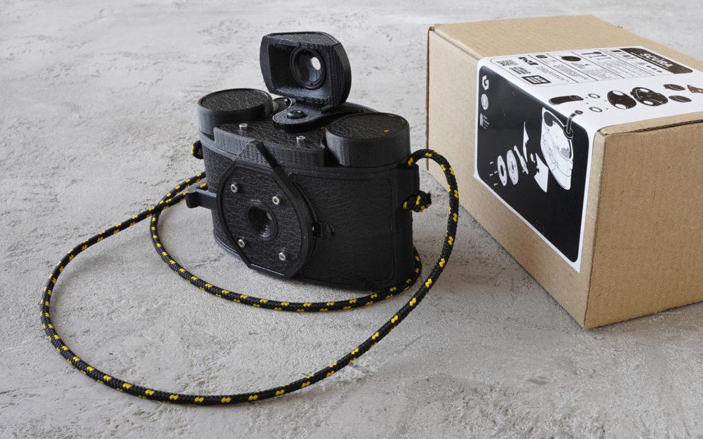 SCURA: Αυτή την πανοραμική pinhole κάμερα μπορείς να την τυπώσεις στον 3D εκτυπωτή σου!