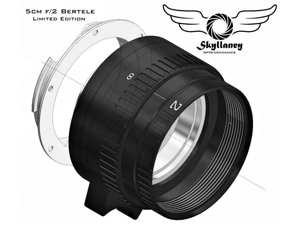 Skyllaney: Νέα Βρετανική εταιρεία φακών, ανακοίνωσε τον πρώτο φακό της και είναι ο Skyllaney 50mm f/2 Bertele