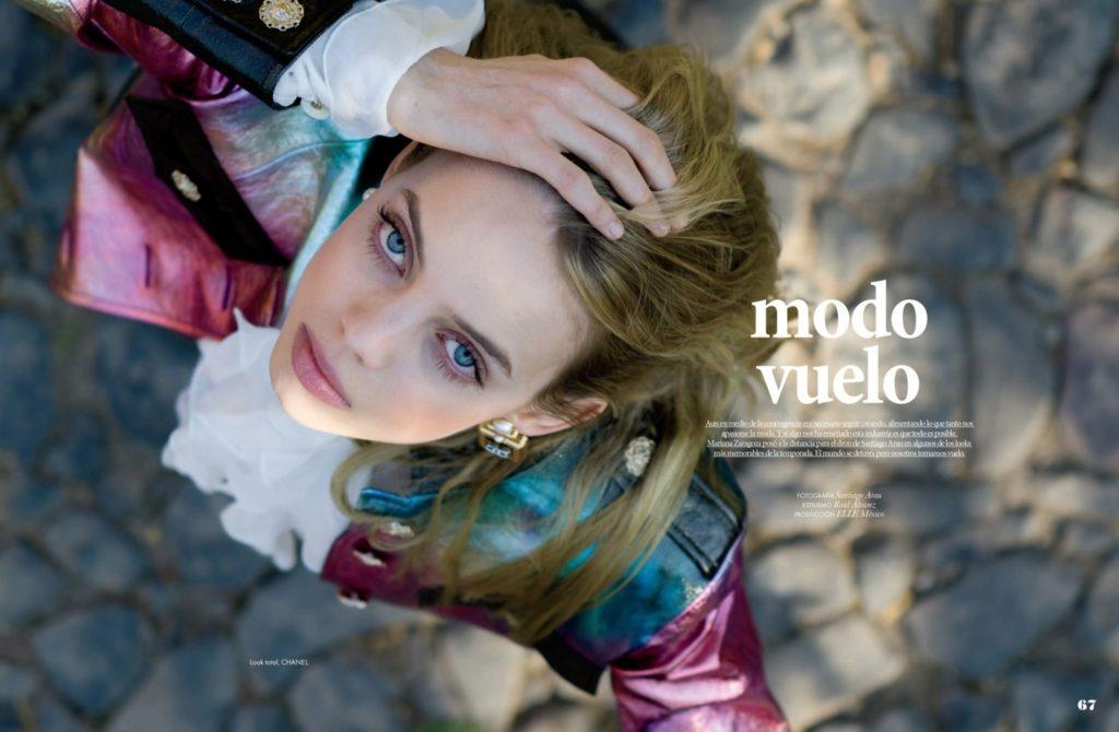 Φωτογράφος έκανε την φωτογράφιση πορτραίτου μοντέλου για το περιοδικό Elle, με τη βοήθεια drone!
