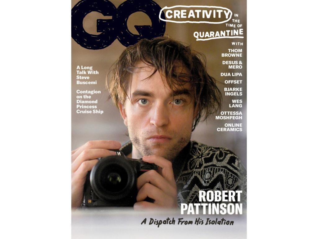 Ο Robert Pattinson χρησιμοποίησε την Nikon του για να κάνει τα αυτοπορτραίτα που δημοσιεύτηκαν στο περιοδικό GQ