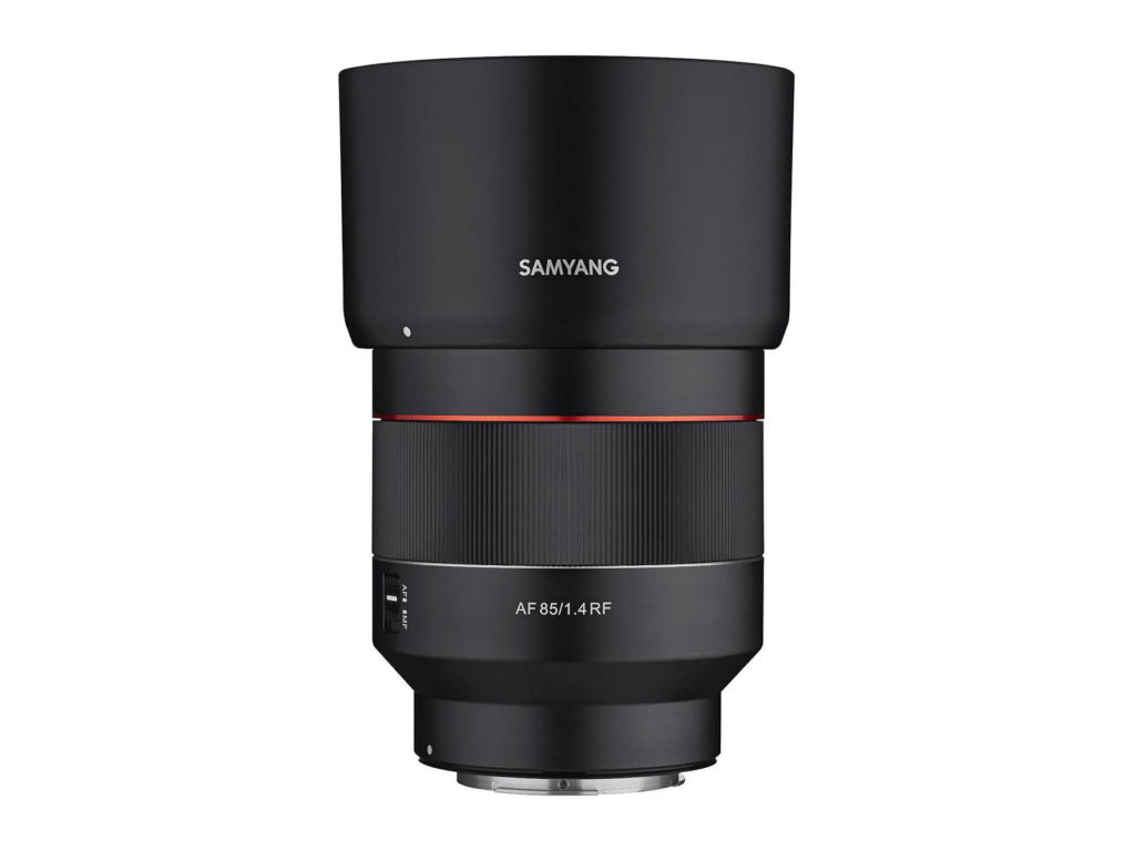 Samyang AF 85mm F1.4 για Canon EOS R mirrorless κάμερες στα 700 δολάρια!