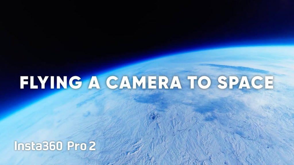 Insta360 Pro 2: Πήγε στη στρατόσφαιρα και κατέγραψε βίντεο 8Κ 360 μοιρών της Γης!