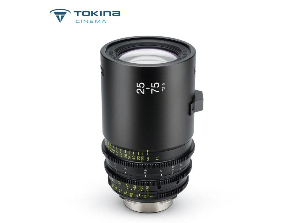 Tokina Cinema 25-75mm T2.9: Νέος κινηματογραφικός φακός με τιμή στα 5.800 δολάρια!