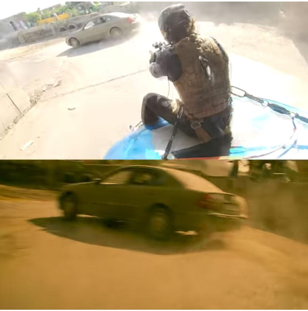 Τι να το κάνεις το Gimbal όταν μπορείς να δέσεις τον σκηνοθέτη με την κάμερα στο καπό αυτοκινήτου;