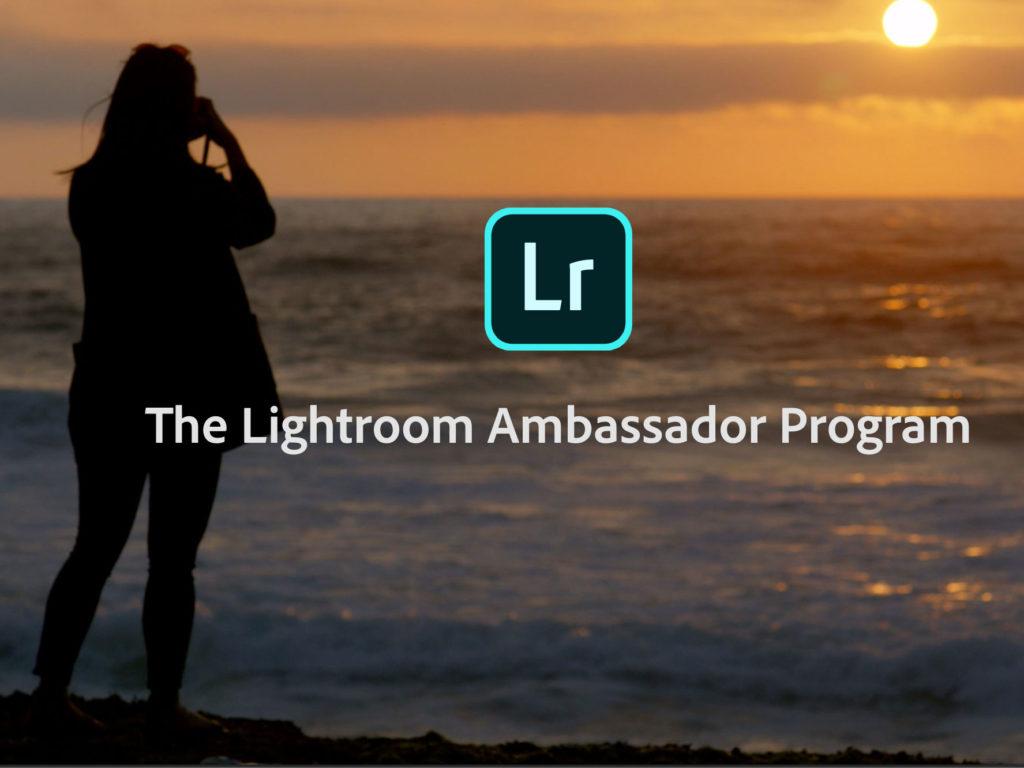 Adobe Lightroom: Έχει πλέον τους δικούς του Ambassadors!