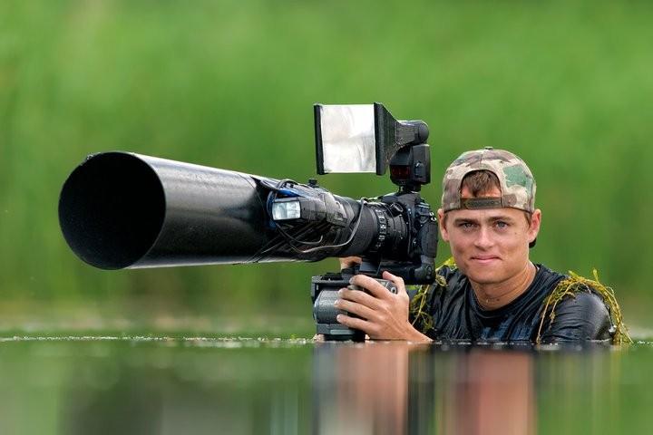 Bence Máté: Ο αόρατος φωτογράφος άγριας ζωής!