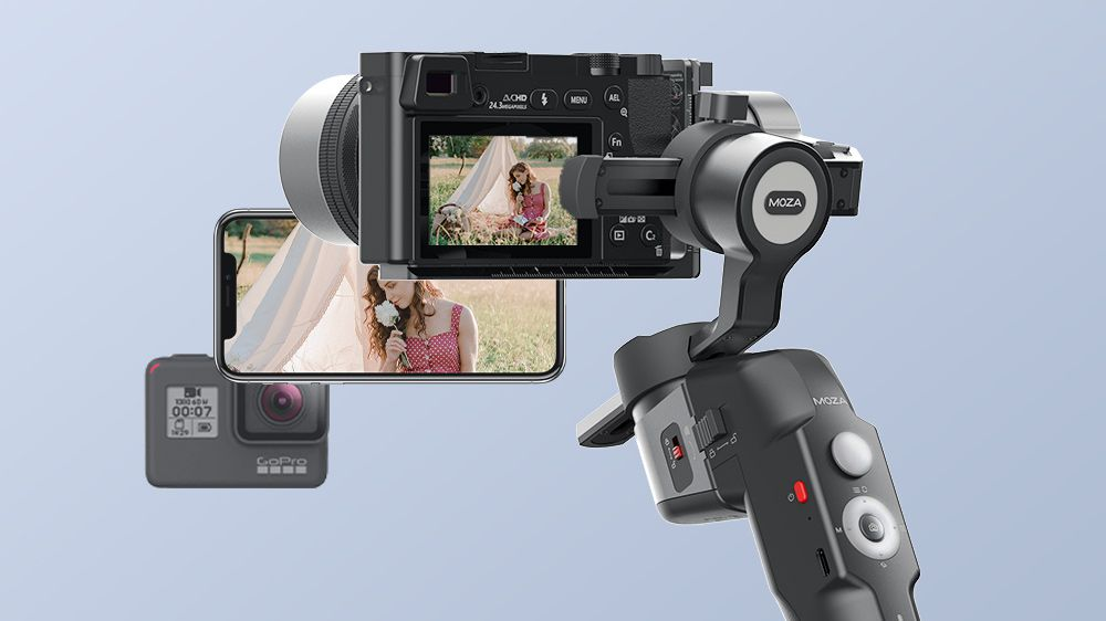MOZA Mini-P: Νέο Gimbal για mirrorless/DSLR, action cameras και smartphones στα 199 δολάρια!