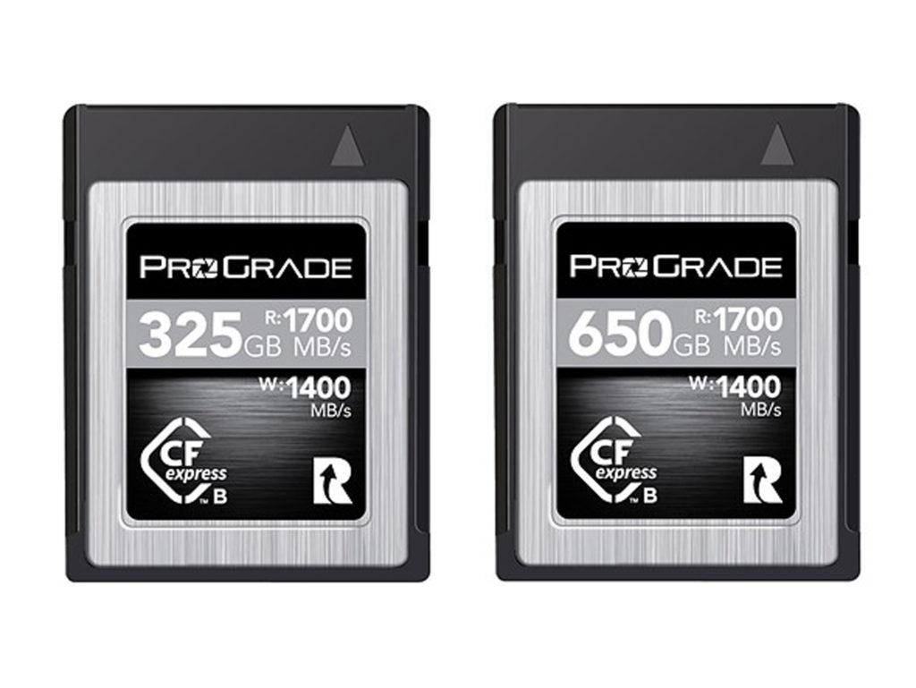 Prograde Digital: Νέες κάρτες μνήμης CFexpress Type B με ταχύτητα ανάγνωσης μέχρι 1,700MB/δευτ. και μέγεθος μέχρι 1TB!