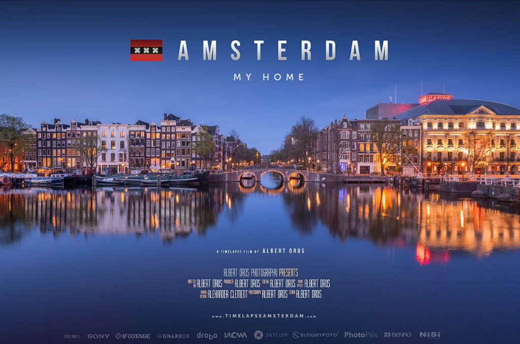 Amsterdam – My Home: Φοβερό Time Lapse βίντεο, χρειάστηκε 2 χρόνια να γίνει και 500GB υλικό!