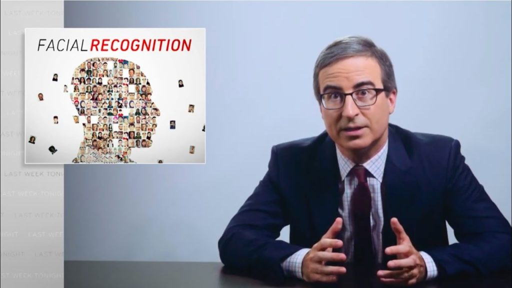 Τεχνολογία Αναγνώρισης προσώπου: Ο John Oliver αναλύει με χιούμορ το πόσο επικίνδυνη μπορεί να είναι για την ιδιωτική ζωή των πολιτών