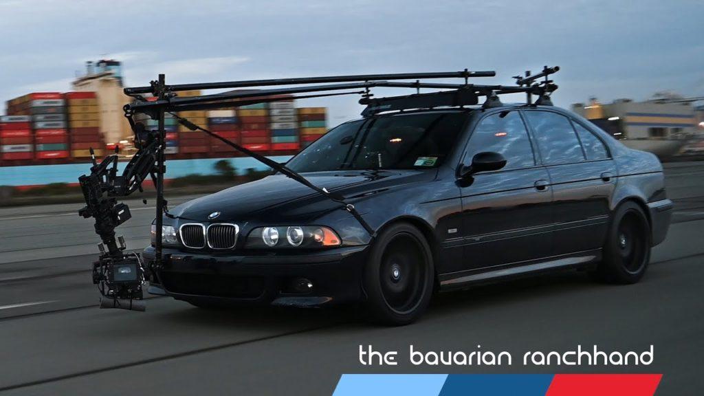 Bavarian RanchHand: Μία BMW M5 και μία Alexa Mini καταγράφουν αυτοκίνητα σε ταχύτητες 210 χλμ/ώρα