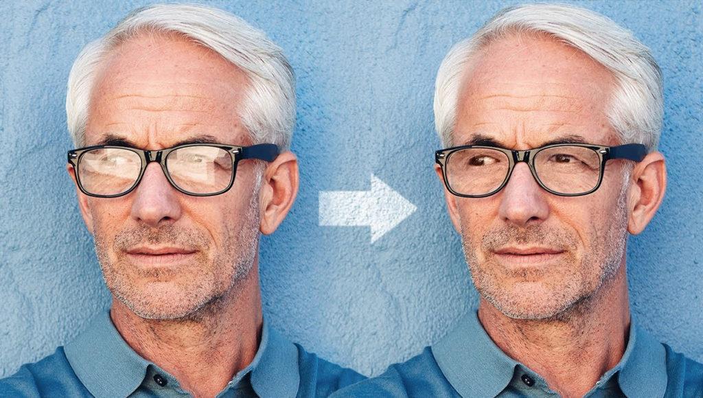 Δες πως αφαιρείς την αντανάκλαση από τα γυαλιά στο Photoshop!