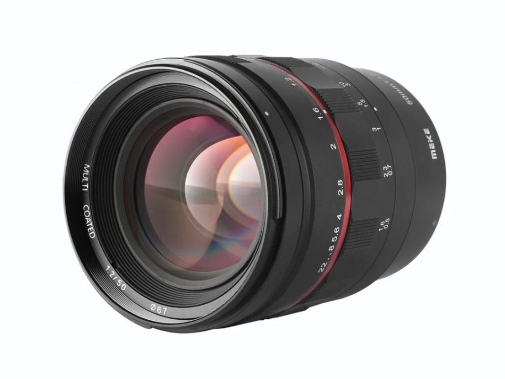 Meike 50mm f/1.2: Νέος prime φακός για Canon RF, Canon EF, Nikon Z, Sony E στα 310 ευρώ!