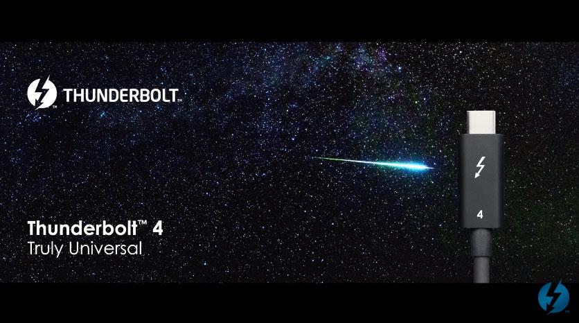 Thunderbolt 4: Έρχεται με υποστήριξη έως δύο 4K ή μία 8K οθόνες και γρήγορη μεταφορά αρχείων