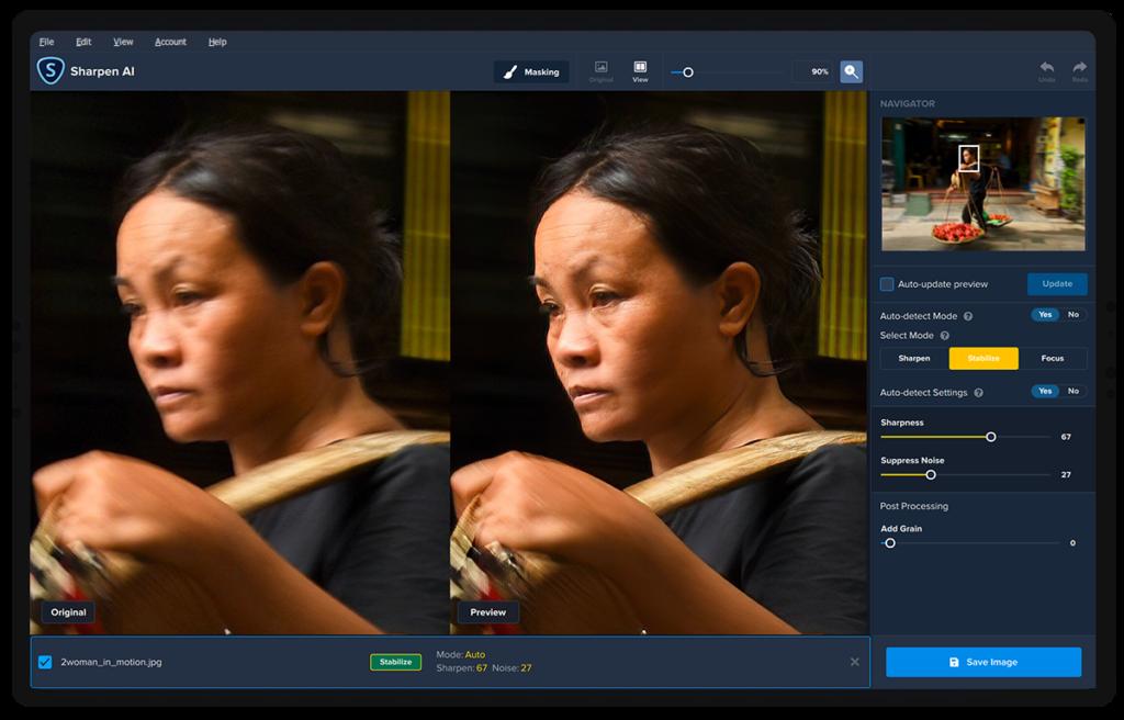 Topaz Labs Sharpen AI: Αναβάθμιση για το λογισμικό  για αύξηση οξύτητας και βελτίωση κουνημένων ή ανεστίαστων εικόνων!