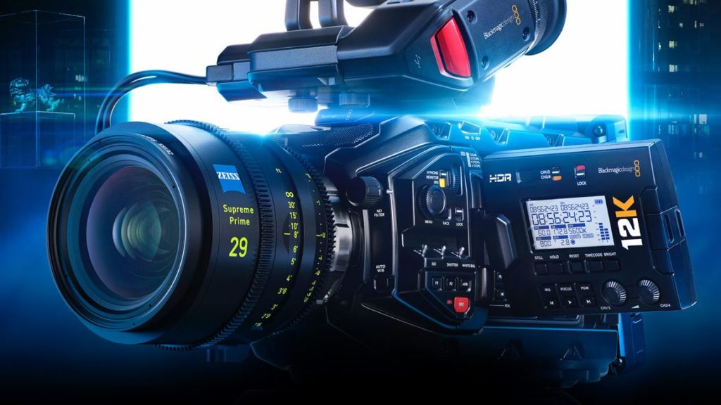BlackMagic URSA Mini Pro 12Κ: Με αισθητήρα 80mp, καταγράφει βίντεο 12Κ στα 60fps, 8K στα 110fps και 4K στα 220fps! H τιμή της μόλις στα 9.995 δολάρια!