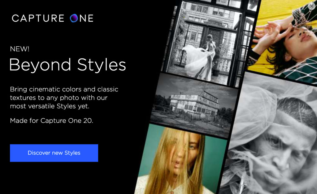 Capture One: Παρουσιάζει δύο νέα Style Packs, εμπνευσμένα από τα φιλμ και την ασπρόμαυρη φωτογραφία!