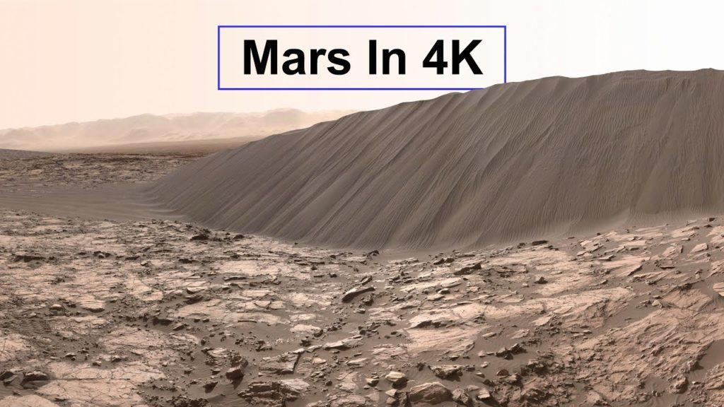 Δείτε τον Άρη στο πρώτο 4Κ βίντεο από εικόνες που έστειλαν τα Rover της NASA στην Γη!