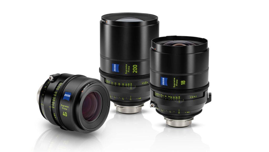 ZEISS Supreme Prime: Τρεις νέοι κινηματογραφικοί φακοί 18mm T1.5, 40mm T1.5 και 200mm T2.2