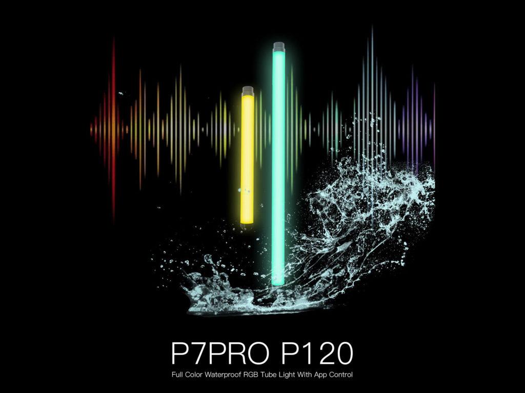 Digitalofoto P7RGBPRO και P120 RGB tube LED φώτα με δυνατότητα για υποβρύχια χρήση!