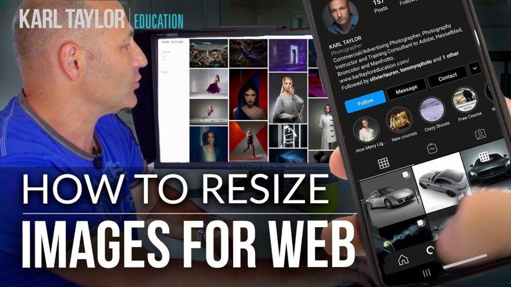 Πως να κάνεις resize τις εικόνες σου για το site σου και το Facebook, Instagram (σε Photoshop, GIMP, Lightroom, Luminar)