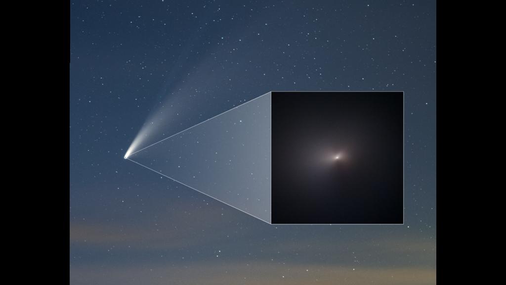 Τηλεσκόπιο Hubble: Αυτή είναι η πιο κοντινή φωτογραφία του κομήτη NEOWISE!