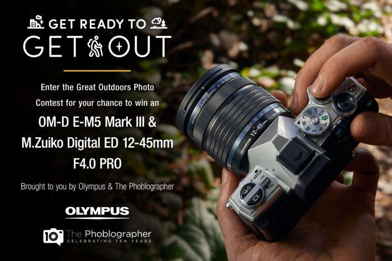 Διαγωνισμός φωτογραφίας με έπαθλο την Olympus OMD EM5 Mk III και τον φακό 12-45mm f4 PRΟ!