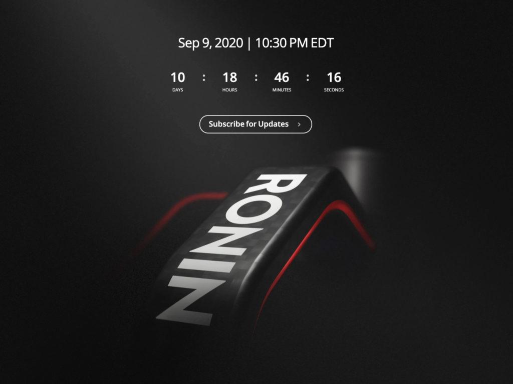 DJI: Στις 9 Σεπτεμβρίου ανακοινώνει το νέο της gimbal στην σειρά Ronin!